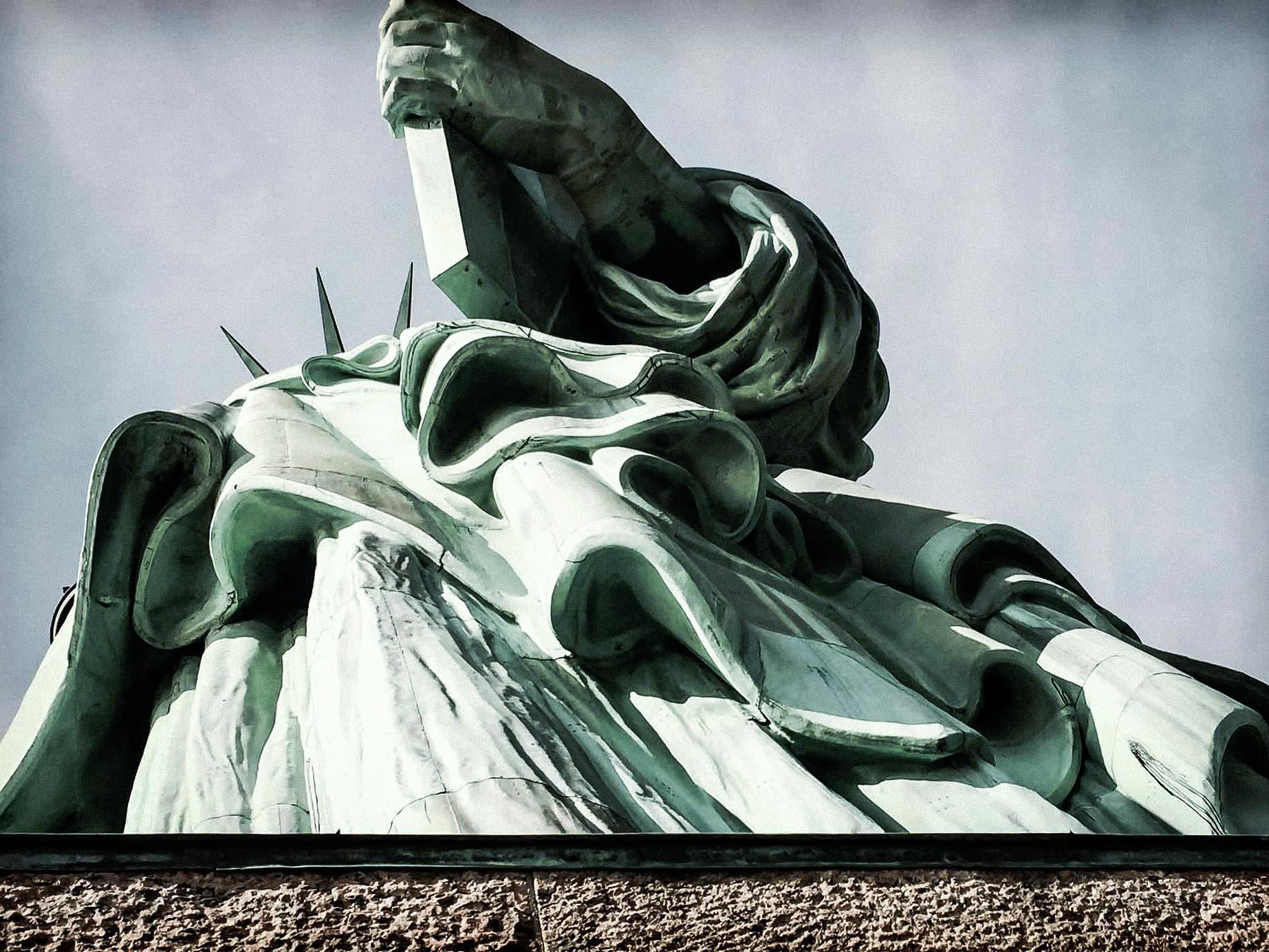 Statue of Liberty Copper Exterior
