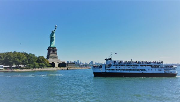 Statue Cruises Ferry going to Statue of Liberty