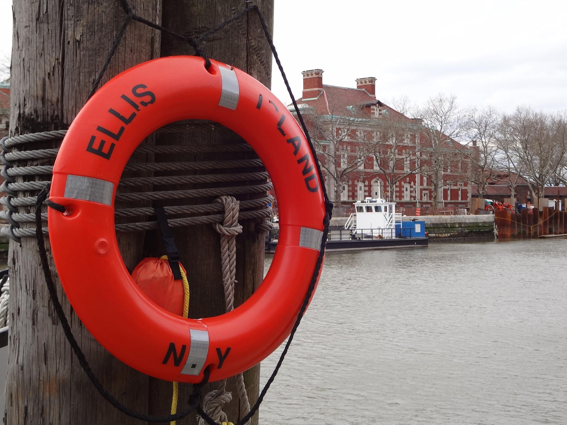 Ellis Island NYC lifesaver
