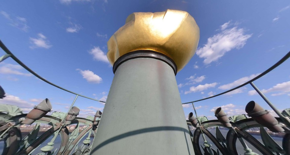 Statue of Liberty Torch Cam