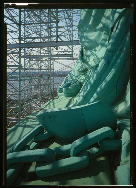 Statue of Liberty Feet & Chains