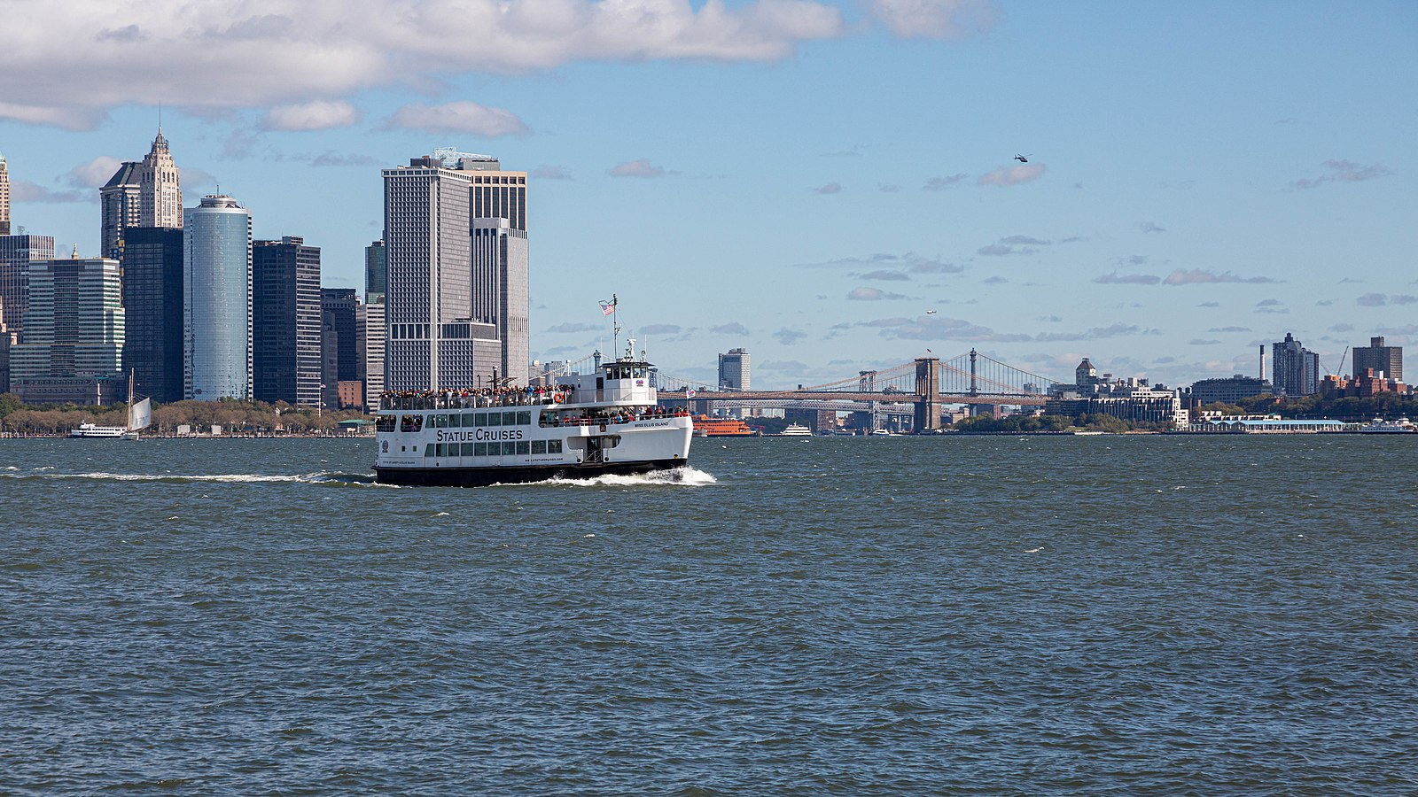 Statue Cruises on the Hudson