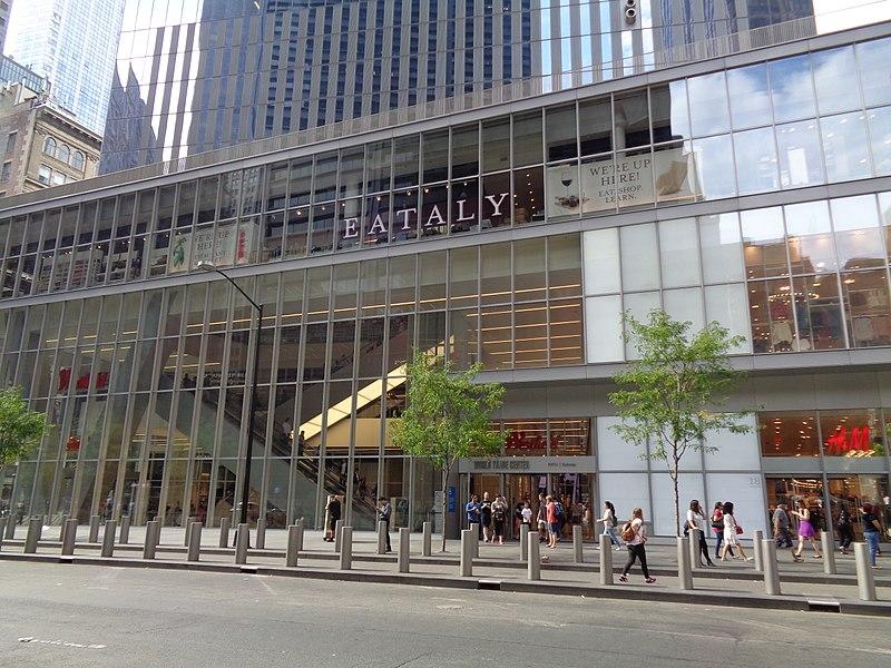 Eataly, World Trade Center, NYC