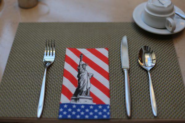 Statue of Liberty napkin