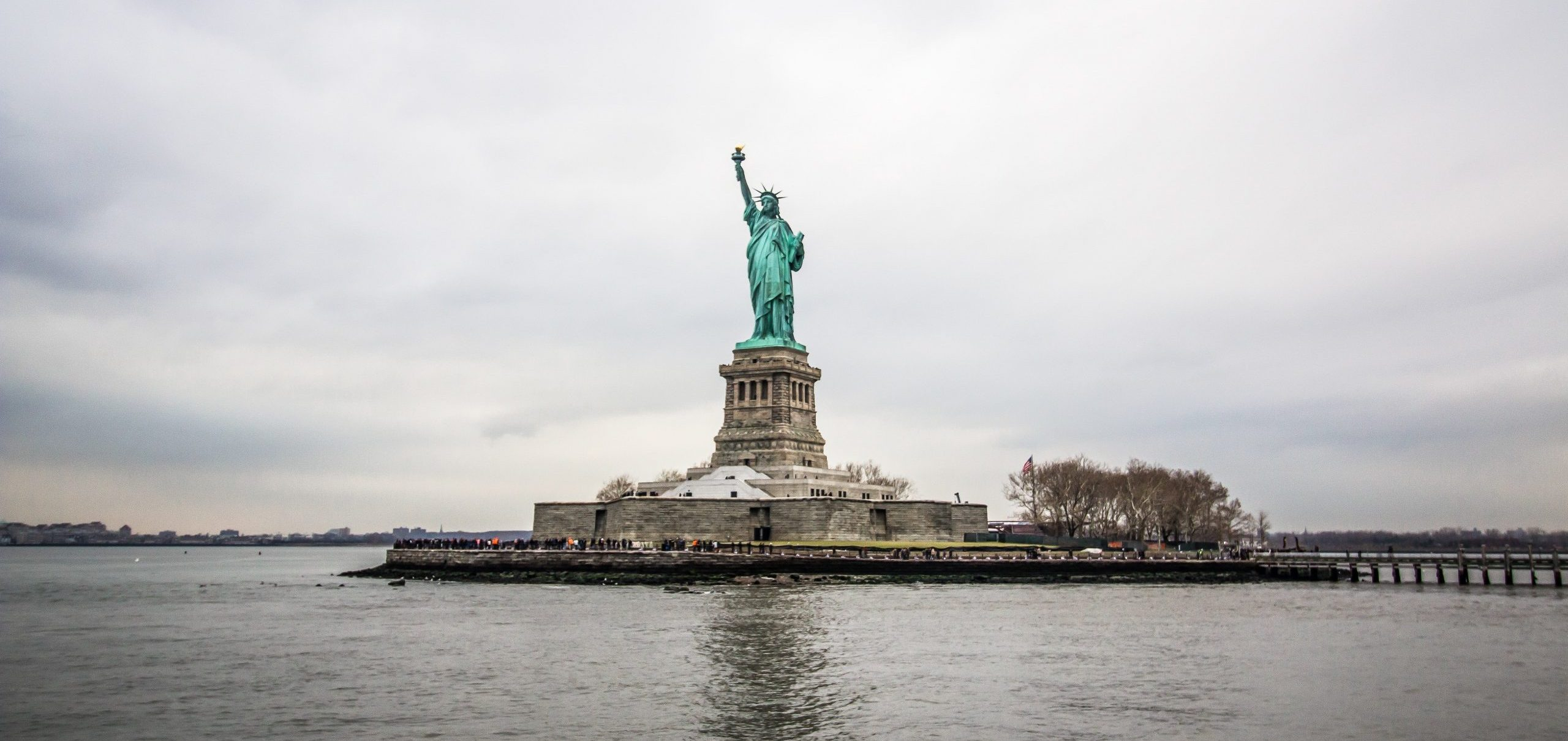 Statue of Liberty from New York Harbor