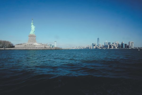 Statue of Liberty in New York Harbor